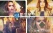 AE模板奢华时尚人物介绍图片幻灯片宣传动画
