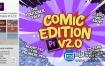 Premiere预设:卡通动漫LOGO标题转场字幕条包装动画 Comic Edition V2