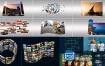 AE脚本:三维透视多画面视频墙扭曲变形画轴效果 AEscripts Transformer v2.0