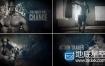 AE模板震撼电影预告片演员人物宣传介绍