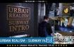 AE模板地铁城市环境电梯墙壁商业广告推广动画
