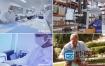 视频素材:科技医疗设备检测实拍素材