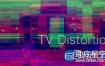 Ae/Pr插件:信号干扰画面像素破损失真Rowbyte TV Distortion Bundle v2.0.7a