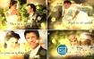 AE模板唯美梦幻金黄色粒子婚礼电子相册视频