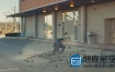 视频素材:2K高清16组地面粉碎开裂裂缝后期特效合辑