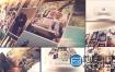AE模板3D唯美结婚纪念日生日家庭活动假期旅游动画