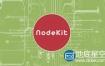 AE脚本:点线连接整列动画 AEscripts NodeKit V1.00