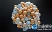 C4D教程:小球聚拢动力学视频教程