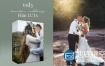 LUT调色预设:8组欧美风格婚礼LUT调色预设Kreativ Wedding LUTs Vol. 3