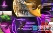 AE模板广播电视频道娱乐节目包装动画字幕条过渡动画