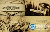 AE模板电影片头手绘沙画世界中的远古旅程动画