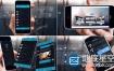 AE模板应用程序商业化推广iphone手机移动APP演示
