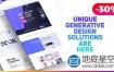 AE模板企业机构高级网站介绍代理促销产品设计演示