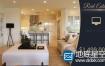 AE模板房地产宣传促销别墅室内展示介绍视频动画