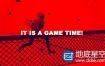 AE模板体育网球比赛商业广告介绍logo演绎片头动画