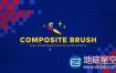 AE插件:画面颜色选取调色替换修改 AEscripts Composite Brush v1.0