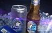 AE模板啤酒能量饮料苏打水商业广告宣传推广