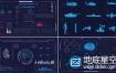 AE模板180组HUD UI界面高科技信息图表科幻屏幕用户界面动画元素