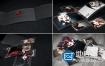 AE模板建筑酒店时尚室内设计餐厅产品目录翻页宣传册动画
