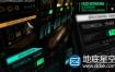 AE模板HUD屏幕科技感信息图表情报界面军事科幻间谍动画元素动画