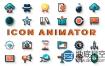 AE模板-MG符号徽标图标动画Icon Animator