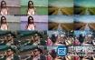 PR预设:450组INS婚礼风景黑白复古柔和电影视频调色LUTS预设