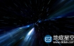 视频素材:科技信息数据宇宙空间流光隧道穿梭