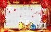 AE模板-2019春节猪年企业员工拜年框片头动画