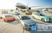 3D模型:汽车飞机3D模型 VizPeople 3D Traffic v1
