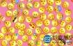 AE模板-102个独特的Emoji社交网络表情动画+渲染好的视频素材