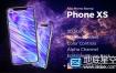 AE模板-iphone XS手机app推广应用示范快速演示广告宣传动画
