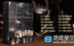 AE模板-金色的粒子奥斯卡颁奖典礼Awards Ceremony