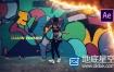 AE模板-时尚动感炫酷体育运动极限运动展示动画