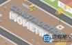 AE模板-3D卡通施工建设工程师规划房子室内安装机械工具元素包