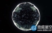 AE+C4D教程:制作水滴水球动画(含工程) Cinema 4D + After Effects – Creating an Organic Ball Tutorial