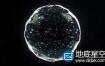AE+C4D教程:制作水滴水球动画(含工程) Cinema 4D + After Effects – Creating an Organic Ball Tutorial