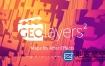 AE脚本:世界地图任意位置路径展示动画Aescripts GEOlayers 2 v1.2.7+使用教程