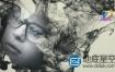 Apple Motion模板-中国风水墨遮罩文字视频片头动画 Ink CInematic Titles