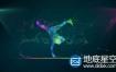 AE模板-Plexus粒子音频反应霹雳舞舞蹈logo标志展示片头动画