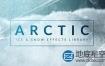 视频素材:79个冬天下雪飘雪结冰特效合成4K视频素材