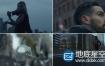 视频素材:120组下雪飘雪特效合成4K视频素材