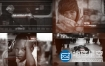 AE模板-公司发展时间轴电影纪录片历史回忆黑白视差幻灯片