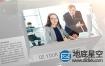 AE模板-科技感企业介绍公司业务未来信息图表动画