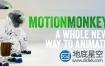 AE脚本:多图层运动MG动画 Aescripts MotionMonkey V1.02