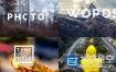 AE模板-3D透视图片照片展示文字标题排版动画 Title Inside Photo