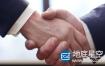视频素材:实拍超清特写商务合作握手