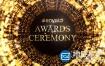 AE模板-奥斯卡颁奖典礼晚会环形梦幻粒子背景包装片头 Awards