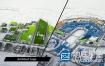 AE模板-三维建筑公司建筑师Logo展示演绎动画 Architect and Architecture Company Logo