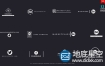 AE模板-12组创意方框文字标题排版简单Logo动画 Logo Titles V3