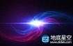 AE模板-唯美漂亮的红蓝粒子交汇logo展示演绎动画 The Flow Logo Reveal